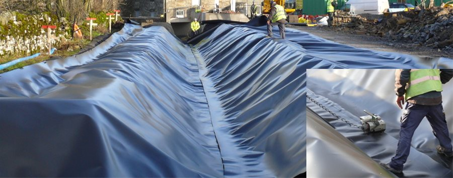 Geosynthetics - Geomembranes