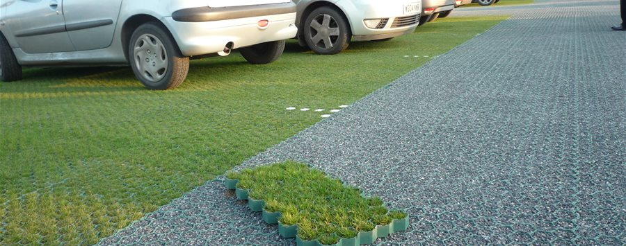 Grass Protection Geosynthetics