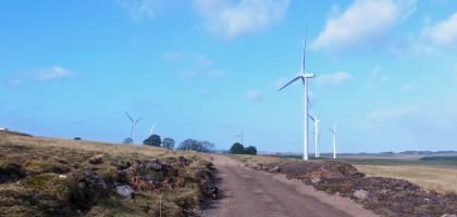 Muirhall Windfarm Tenax Geogrids
