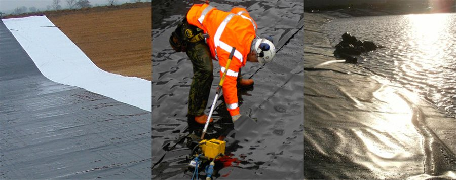 Geosynthetics - Aquablock® HDPE, LLDPE & PP liners