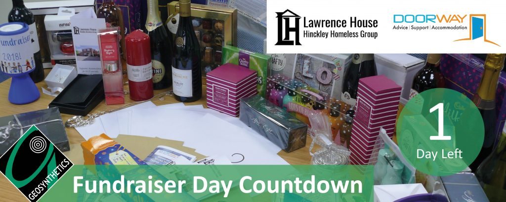 Fundraiser Day Countdown